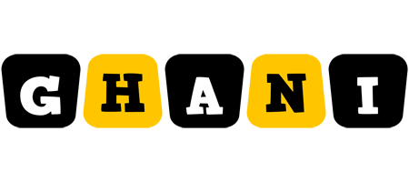 Ghani boots logo