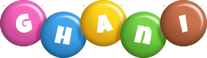 Ghani candy logo