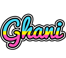 Ghani circus logo