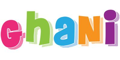Ghani friday logo