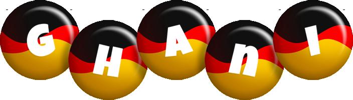 Ghani german logo