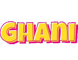Ghani kaboom logo