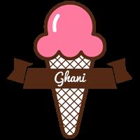 Ghani premium logo