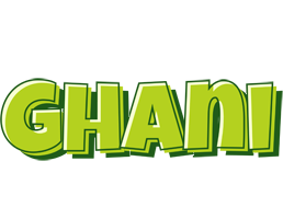 Ghani summer logo