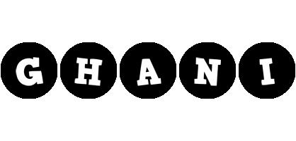 Ghani tools logo