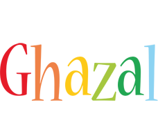 Ghazal birthday logo