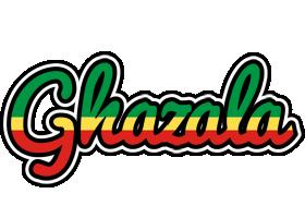 Ghazala african logo
