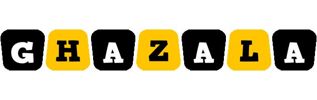 Ghazala boots logo