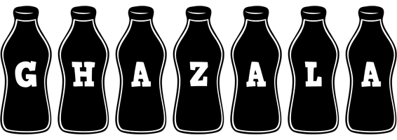 Ghazala bottle logo