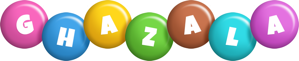 Ghazala candy logo