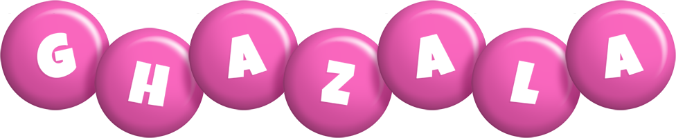 Ghazala candy-pink logo