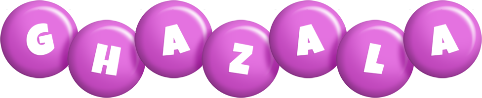 Ghazala candy-purple logo