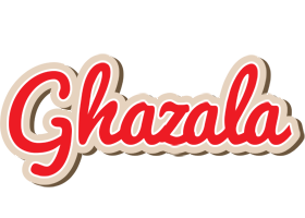 Ghazala chocolate logo