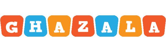 Ghazala comics logo