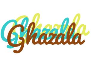 Ghazala cupcake logo