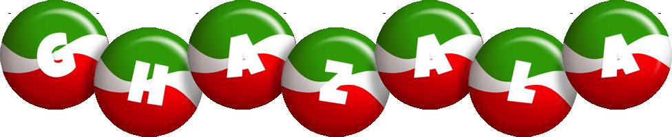 Ghazala italy logo
