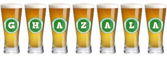 Ghazala lager logo