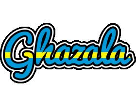 Ghazala sweden logo