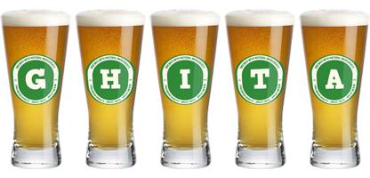 Ghita lager logo