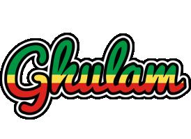 Ghulam african logo