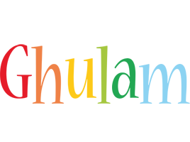 Ghulam birthday logo