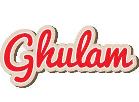 Ghulam chocolate logo