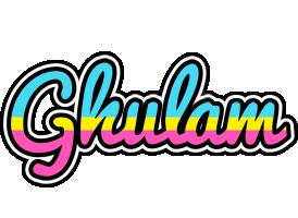 Ghulam circus logo