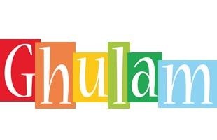 Ghulam colors logo