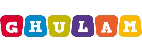 Ghulam daycare logo