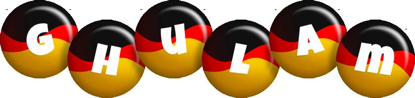 Ghulam german logo
