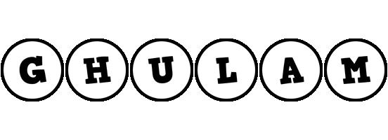 Ghulam handy logo