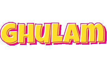 Ghulam kaboom logo