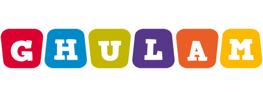 Ghulam kiddo logo