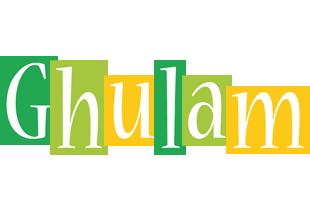 Ghulam lemonade logo
