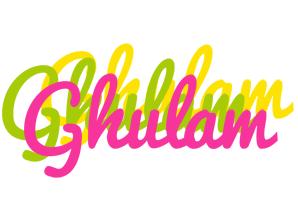 Ghulam sweets logo