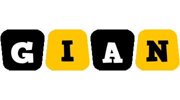 Gian boots logo