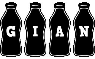 Gian bottle logo