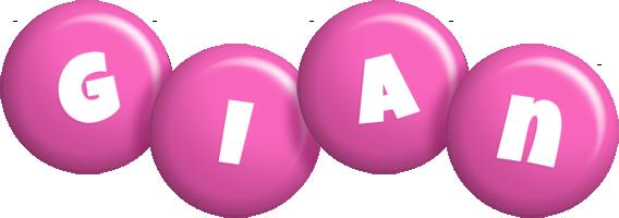 Gian candy-pink logo