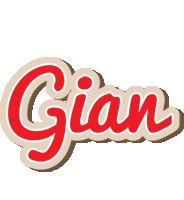 Gian chocolate logo