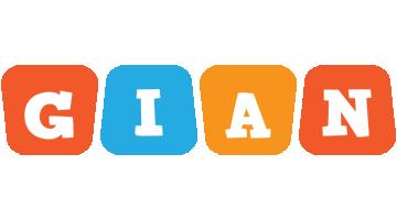 Gian comics logo