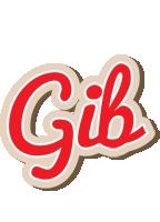 Gib chocolate logo