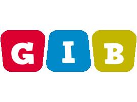 Gib daycare logo