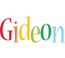 Gideon birthday logo