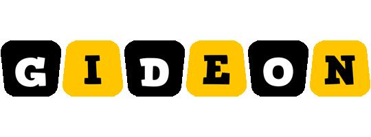Gideon boots logo