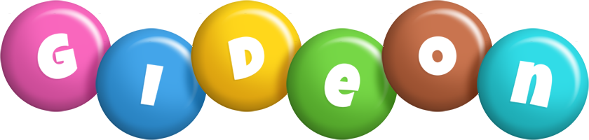 Gideon candy logo