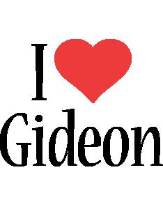 Gideon i-love logo