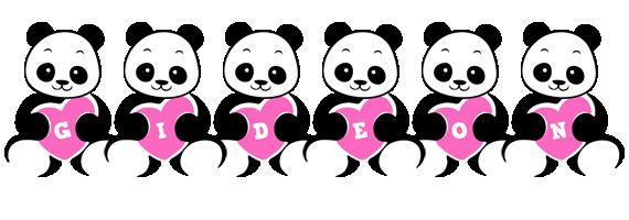 Gideon love-panda logo