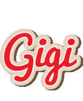 Gigi chocolate logo