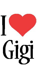 Gigi i-love logo