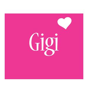 Gigi love-heart logo
